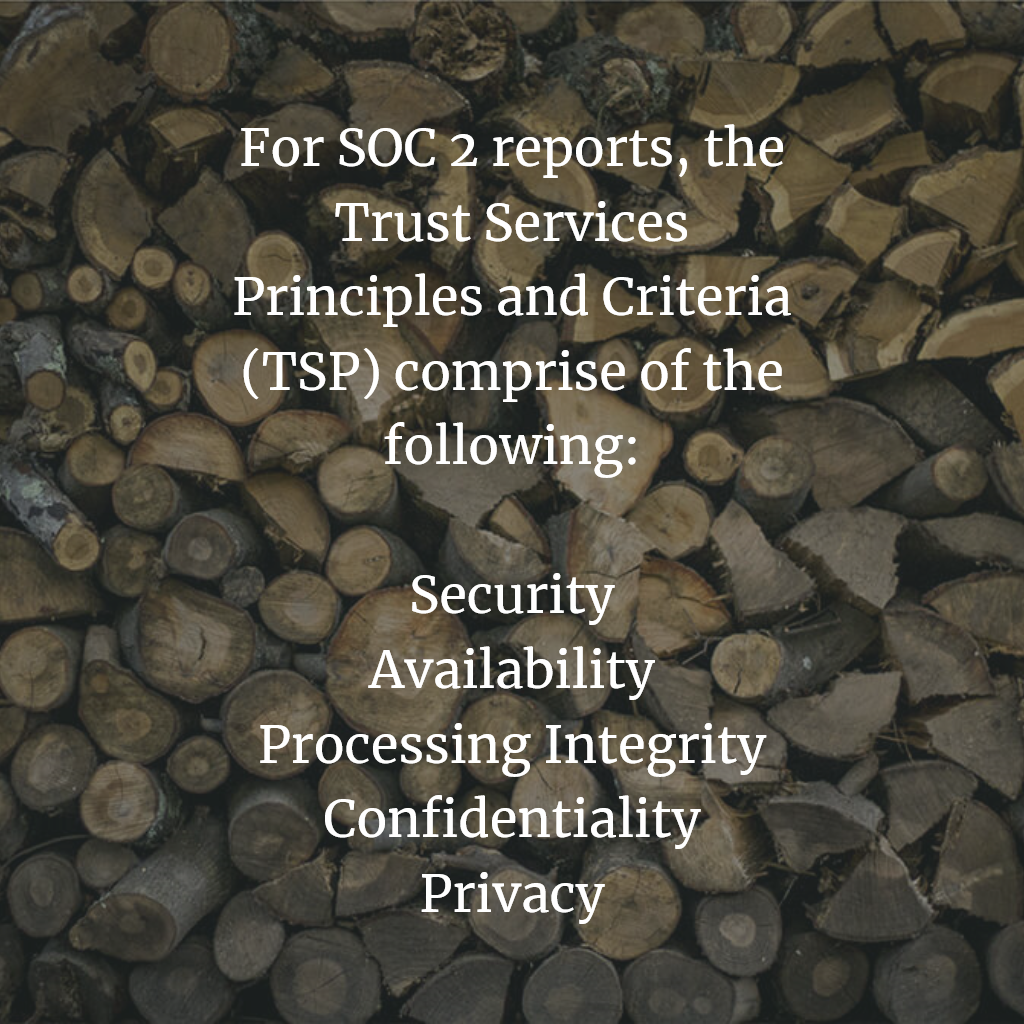 SOC 2 Trust Services Principles
